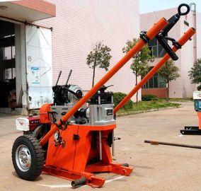 машина буровой установки глубины 150м Геотечникал портативная/роторная буровая установка